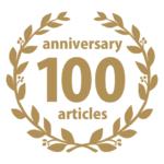 祝!100記事-anniversary