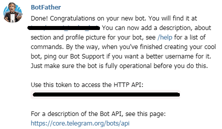 telegram(テレグラム)API-BotFather(ボットファーザー)05