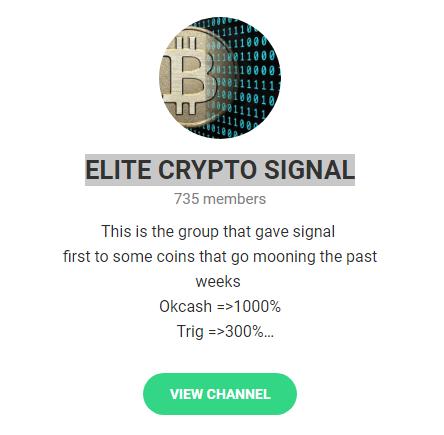 ELITE CRYPTO SIGNAL Okcashは10倍・Trigは3倍