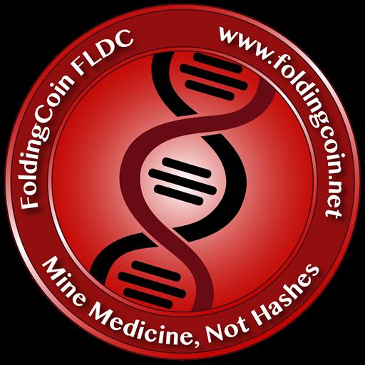 FLDC(FoldingCoinフォールディングコイン)はタンパク質の折りたたみ異常に関する実験を行っている
