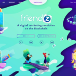friendzのICOトップページ