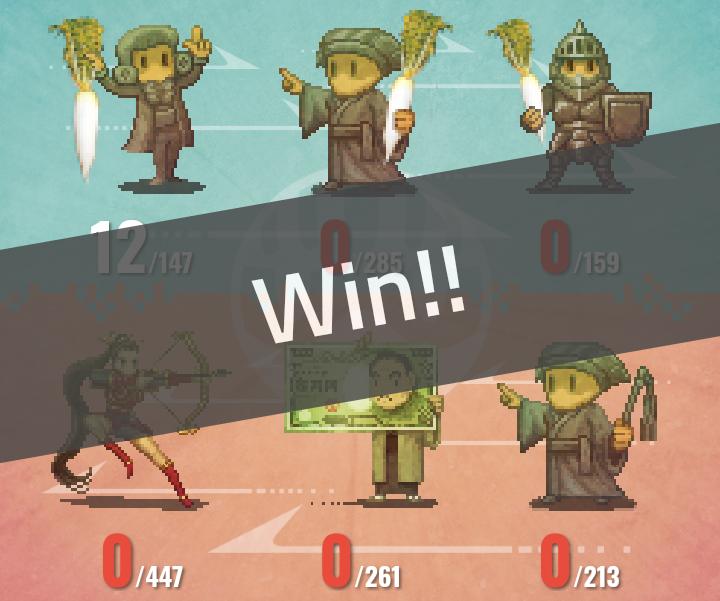 マイクリ大根軍団の勝利